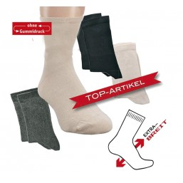 EXTRA BREIT Socken für...