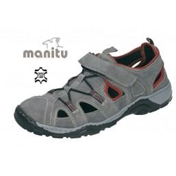Leder Sandalette für Ihn -...