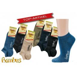 6er Pack Bambus Sneaker für...